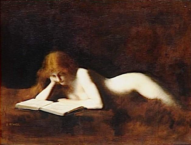 La lettrice di Jean Jacques Henner