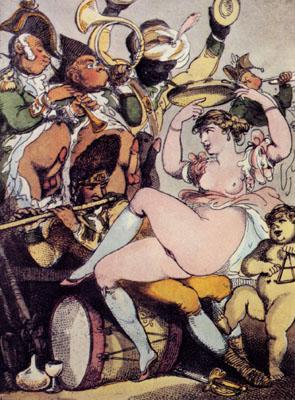 Thomas Rowlandson, Suonatori, secolo XVIII- XIX