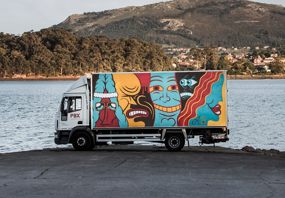 a camion CARRUSEL-TRUCK-ANDI-RIVAS