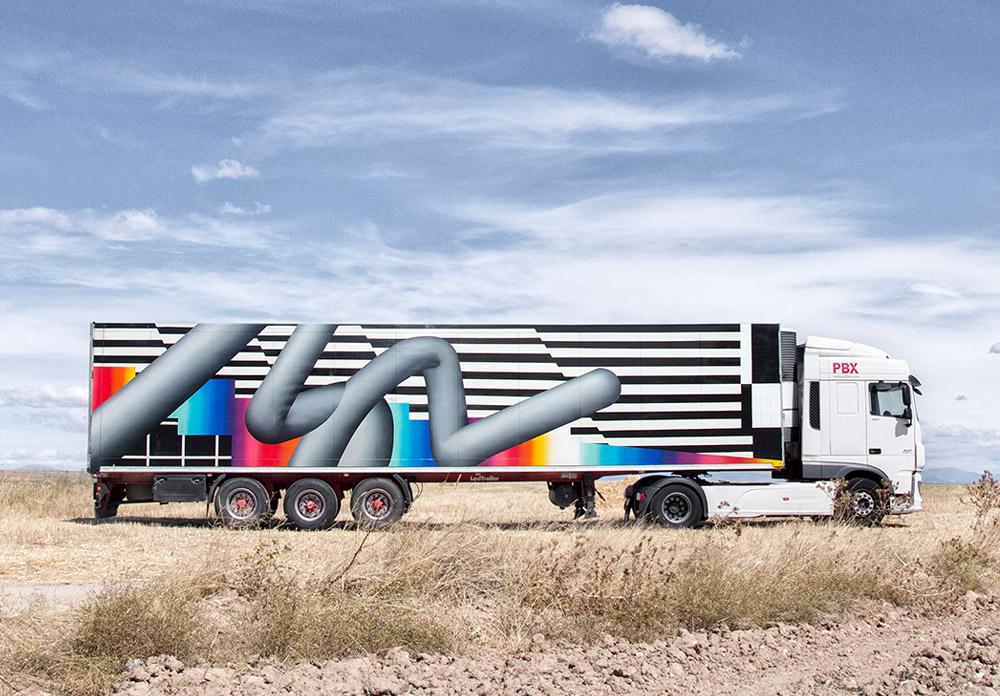 a camion CARRUSEL-TRUCK di felipe PANTONE