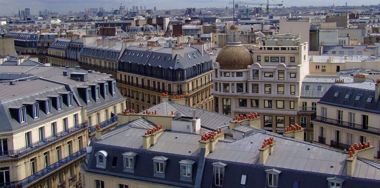 """Come Dipingere Vecchie Tegole i """"cappelli"""" dei tetti di parigi. di cosa sono fatti? e"""